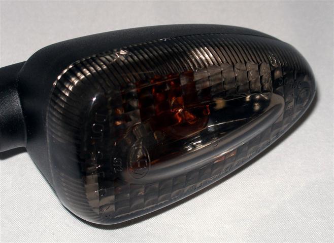 schwarze Blinker vorne hinten LED Rücklicht BMW K 1200 S smoked set lights