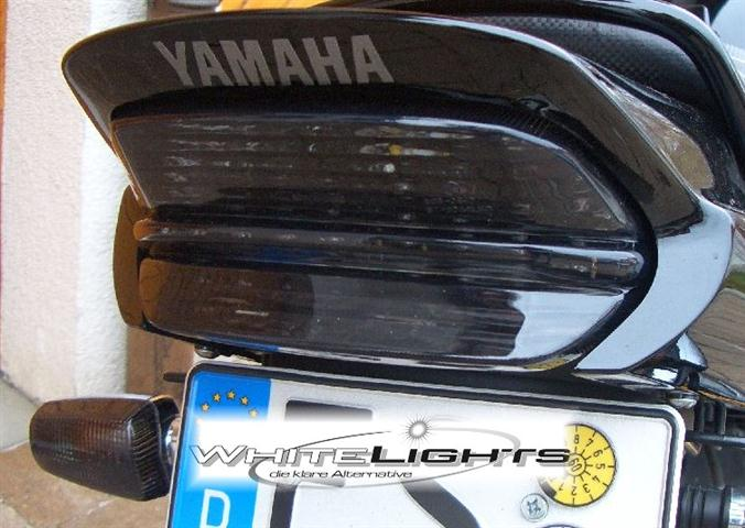 smoked led tail light lamp yamaha xjr 1300 xjr1300 1999 2006 ebay. Black Bedroom Furniture Sets. Home Design Ideas